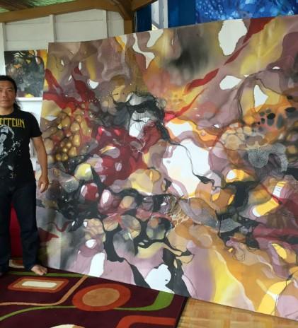 Kapten John, Dari Lukisan Sutra ke Mural
