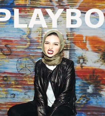 Ketika Seorang Hijaber Tampil di Majalah Playboy..