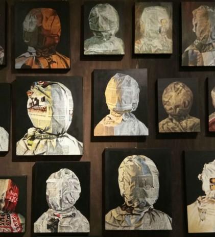 Wajah, Rupa dan Lukisan Koran Yang Merekam INDONESIA