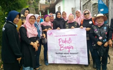 Creative Women Community Peduli Banjir Bandung