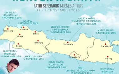 Fatih Seferagic Indonesia Tour!!