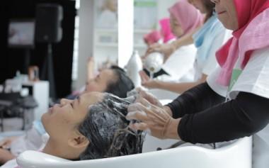 Go-Glam dan Matrix Biolage Menghadirkan Layanan Cool Therapy +++ yang Cocok Untuk Hijabers