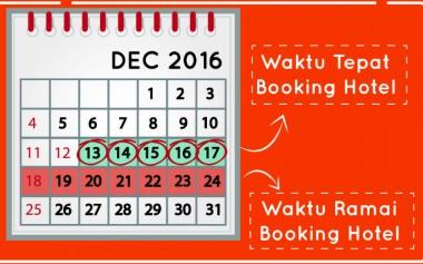 Mau Tahu Kapan Waktu Terbaik untuk Booking Hotel Jelang Akhir Tahun?