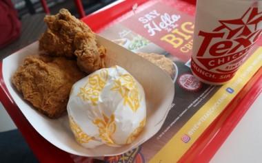 Mencoba Menu Baru dan Ayam Goreng Crunchy khas Texas Chicken