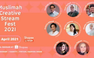 Muslimah Creative Stream Fest 2021, Berdaya dan Berkarya dari Rumah