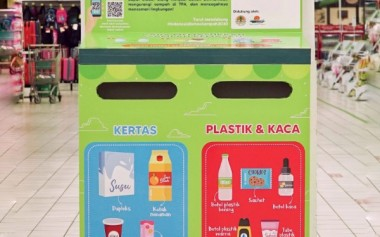 Pilah Sampah di Rumah, Masukkan ke Dropbox Sampah Kemasan di Lokasi Ini