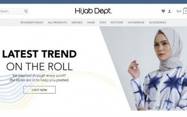 Simpel & Mudah! Belanja Modest Fashion di Hijabdept.com