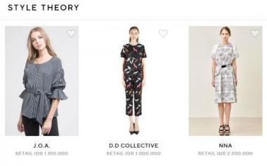 Tak Perlu Beli, Kini Bisa Sewa Busana Desainer di Style Theory