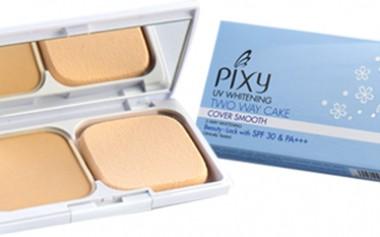 Yang Baru dari PIXY; UV Whitening Two Way Cake Cover Smooth dengan 5 Varian Warna